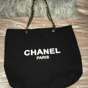 Chanel canvas Tote